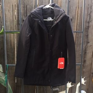 The North Face hoodie jacket size XS black New